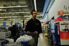 Late night Walmart shopper - Spokane Valley, Washington